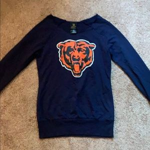 Chicago bears NFL long sleeve sz s jr